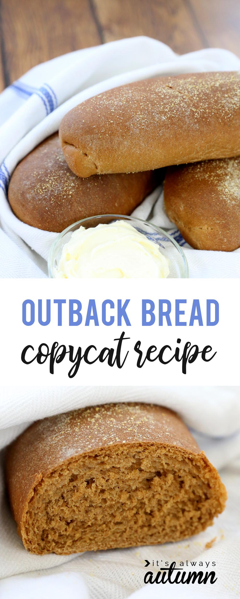 Copycat Outback brown bread