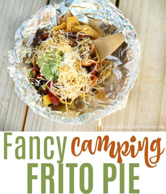 Camping frito pie | 35 best camping recipe ideas