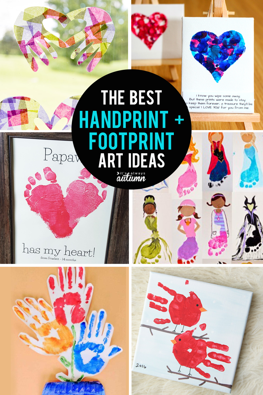30 best handprint and footprint art ideas