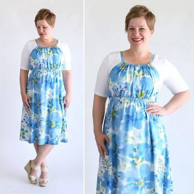 DIY halter dress {easy sewing tutorial}