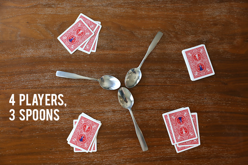 how to play spoons card game