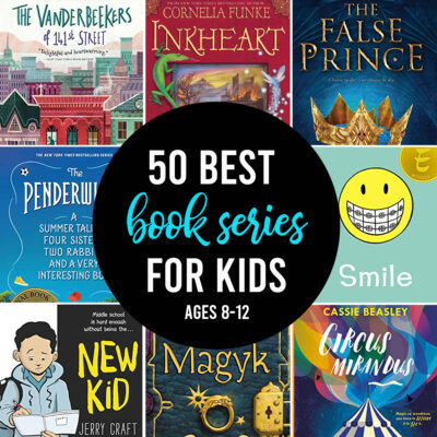 50 BEST Book Series for Kids ages 8-12