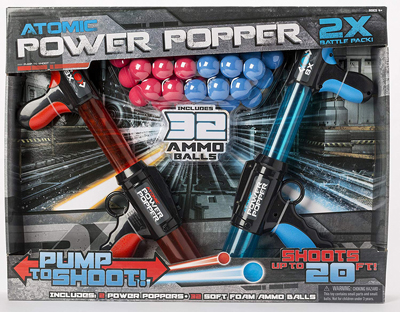 Power popper gun toys