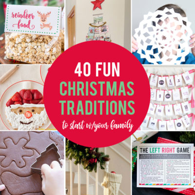 40 fun, inexpensive Christmas traditions to start with your family