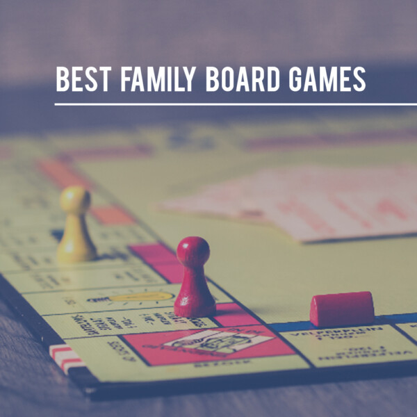 Best family board games, closeup of a Monopoly board