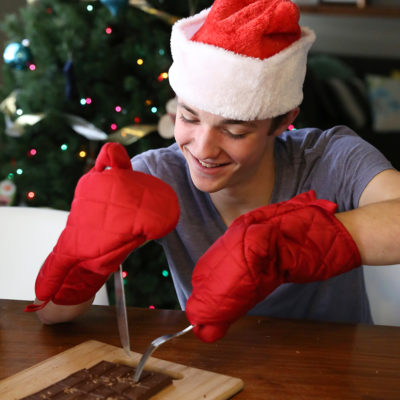 The Christmas candy bar game that's SO MUCH FUN!
