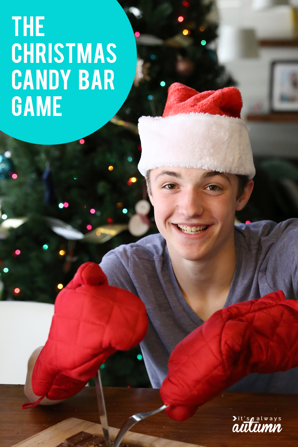 The Christmas candy bar game is so much fun!
