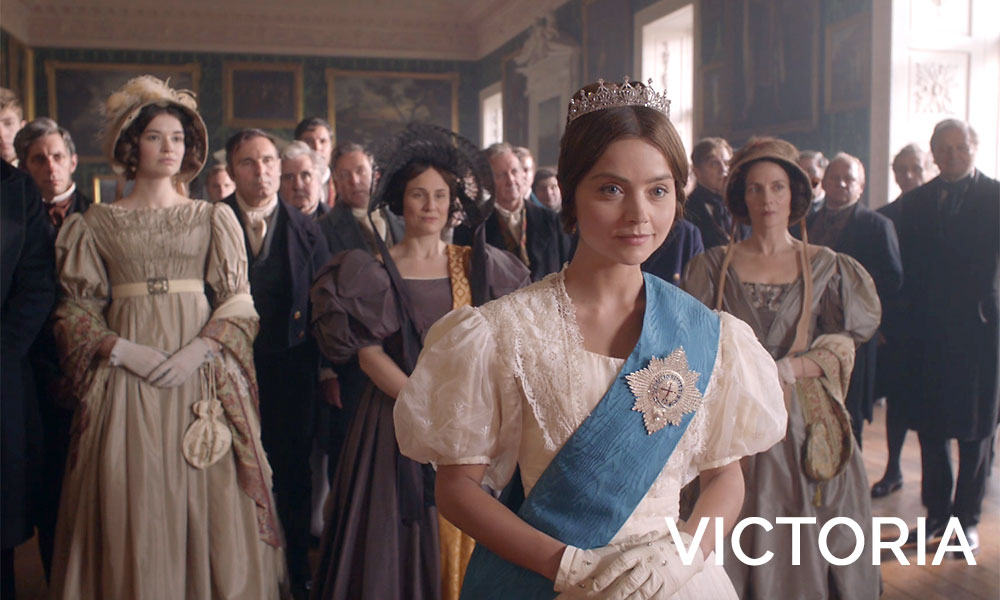 Jenna-Louise Coleman in the movie Victoria