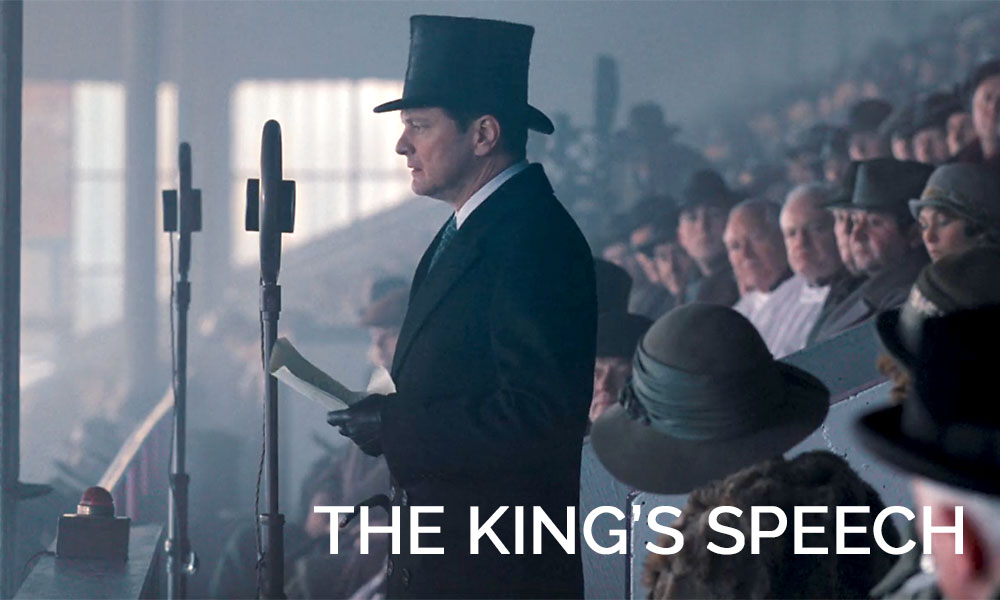 A person wearing a hat, with King\'s Speech