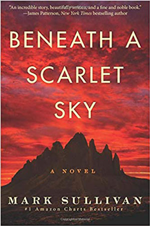 10 great books you're gonna love! Beneath a Scarlet Sky book review.