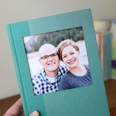 DIY book picture frame: easy photo craft idea