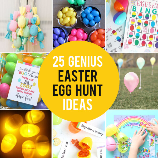 25 genius Easter egg hunt ideas and hacks: how to make it fair for little kids and fun for teens!