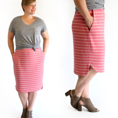 How to make a skirt {the Favorite Skirt sewing pattern}