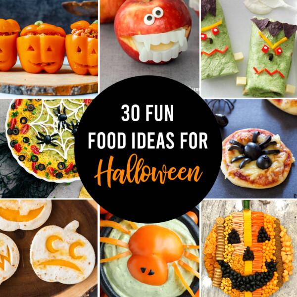 Fun food ideas for Halloween