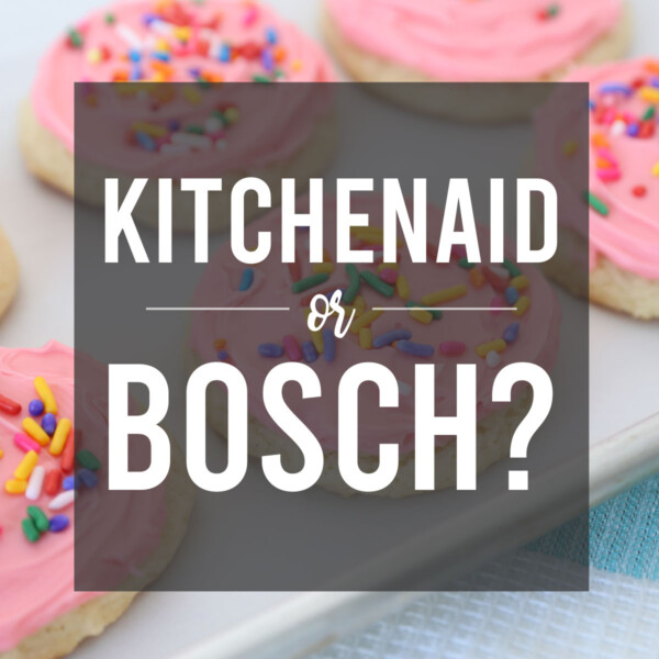 Cookies with words: KitchenAid or Bosch?