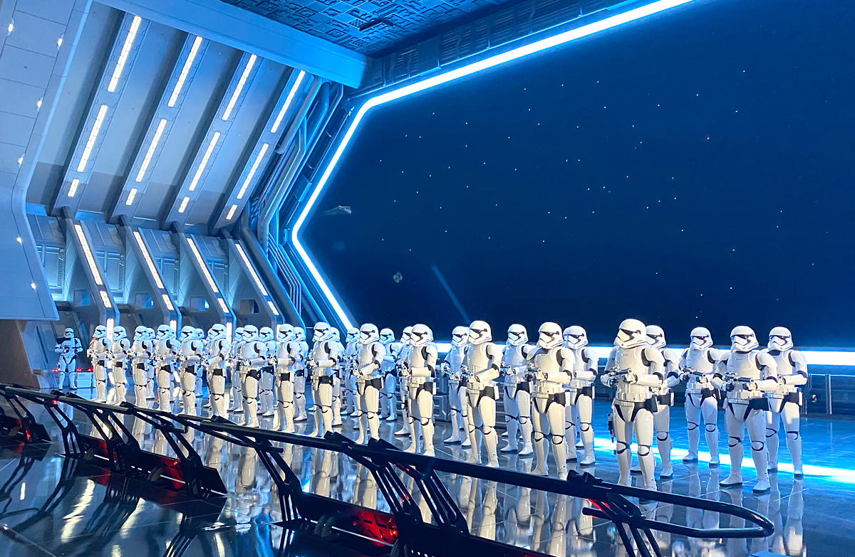 Group of Star Wars stormtroopers