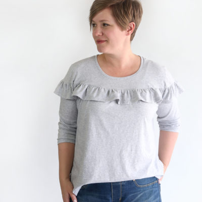 Women's Ruffle Top free pattern