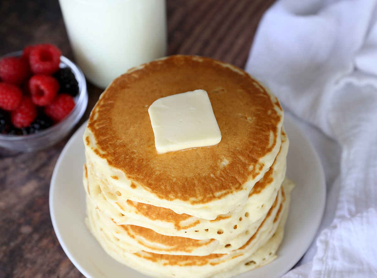 The best fluffy pancake recipe