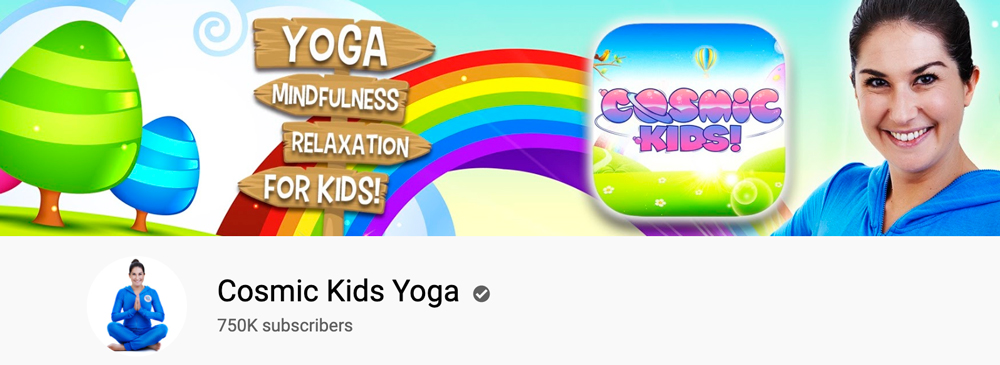 Online yoga class for kids