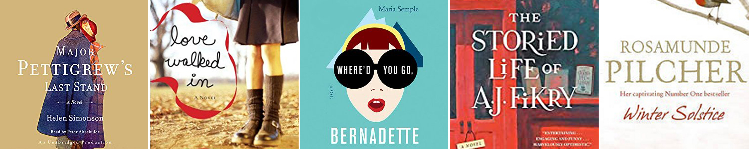 Book cover for the book Where\'d You Go, Bernadette