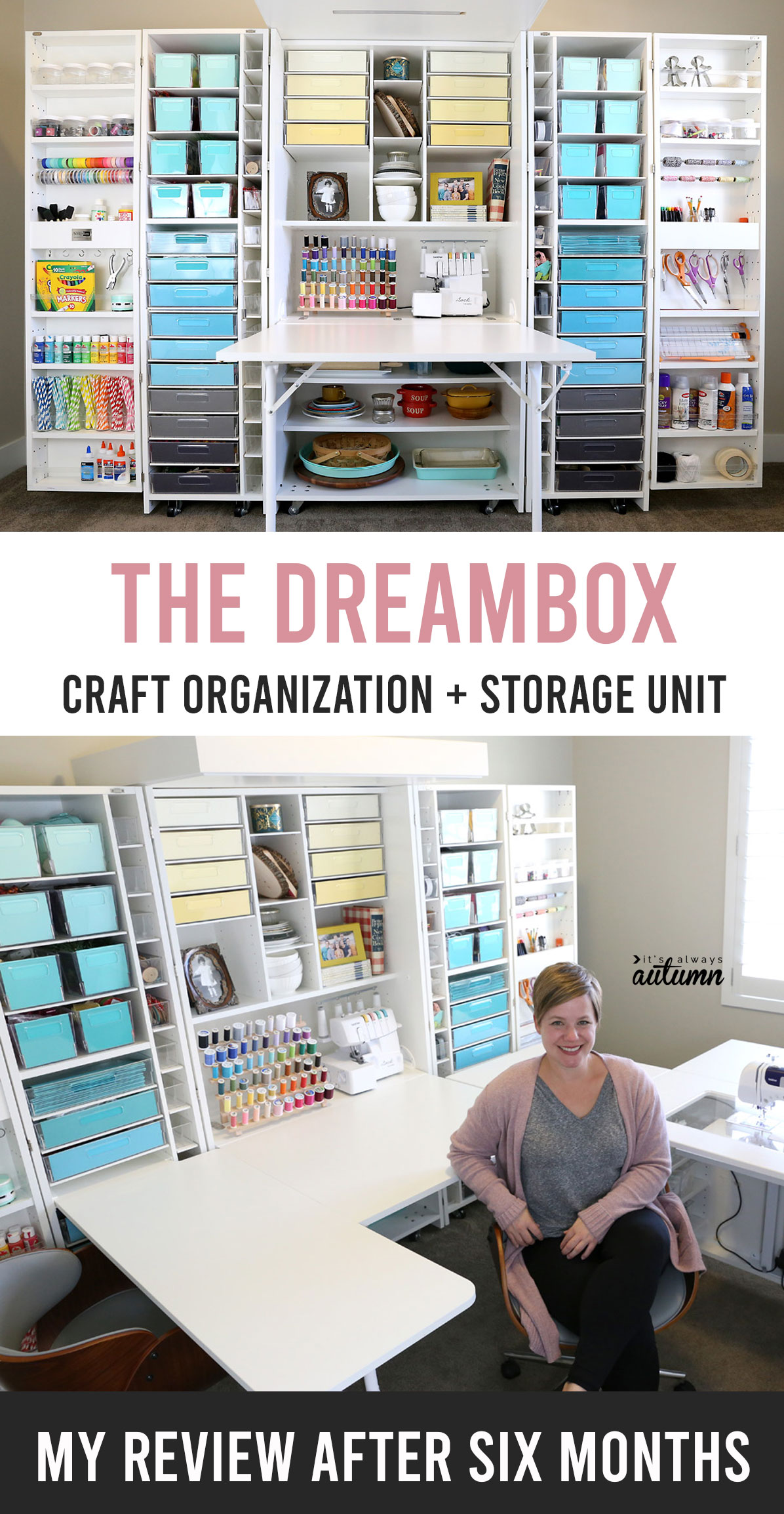 The DreamBox craft organization and storage unit
