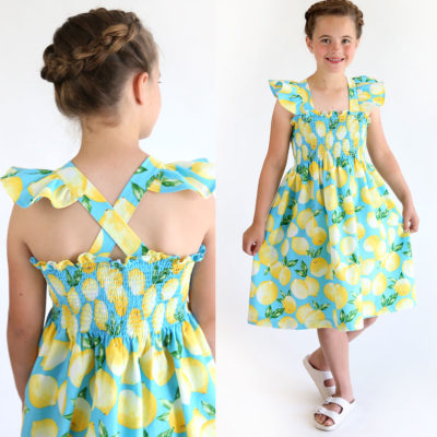 How to make a Smocked Sundress {It's so easy!}