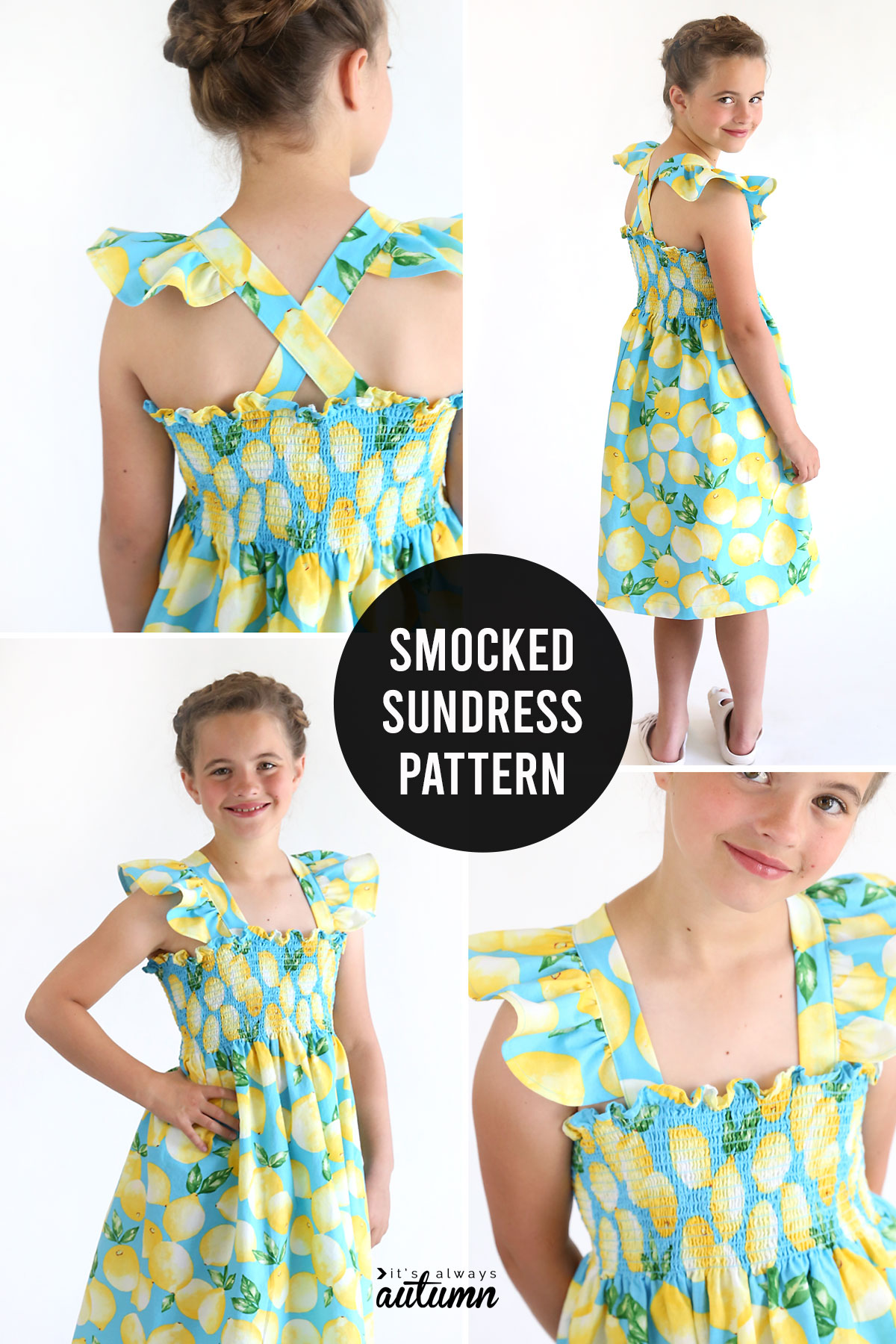 How to sew an adorable smocked sundress
