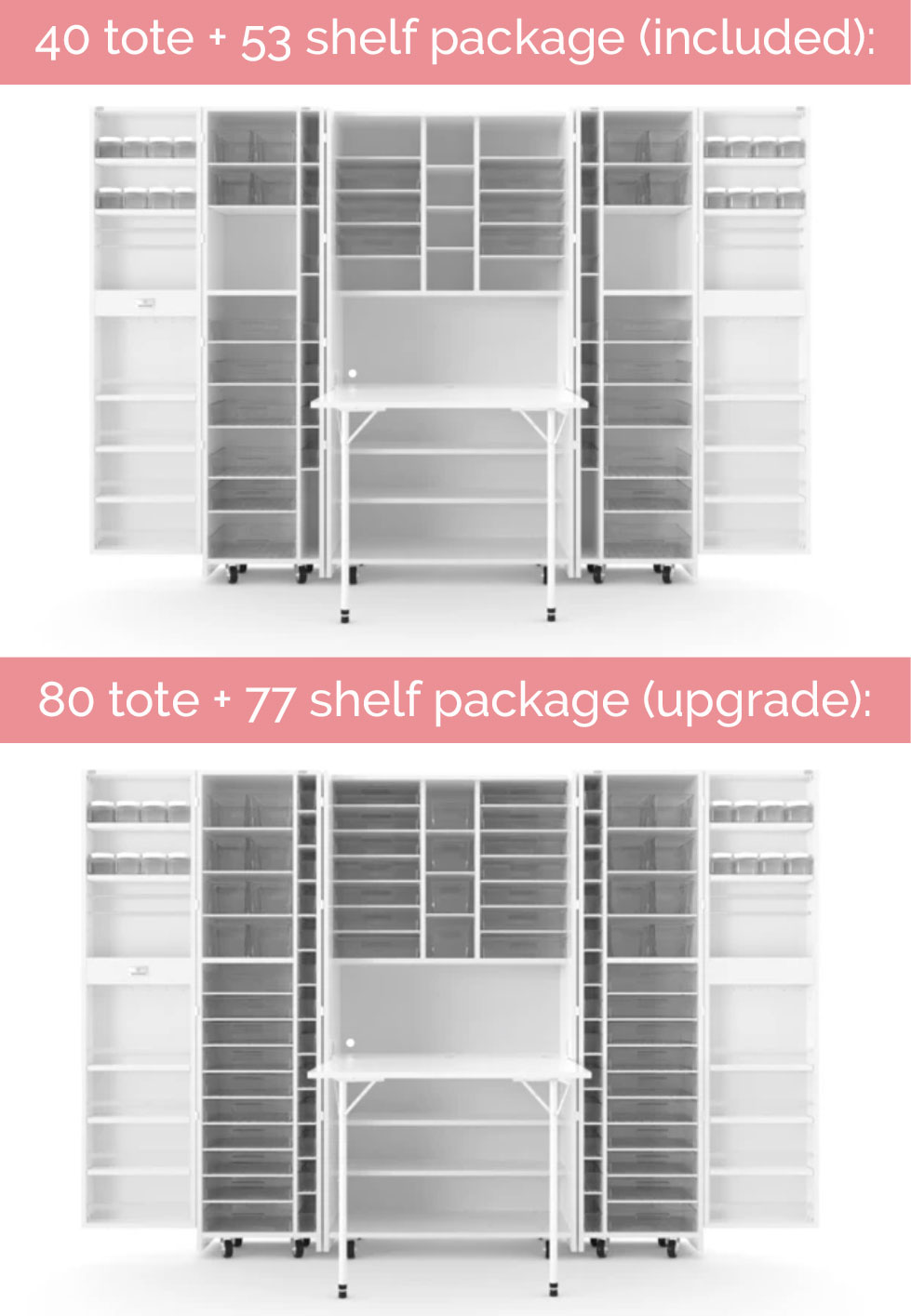 The DreamBox craft storage system