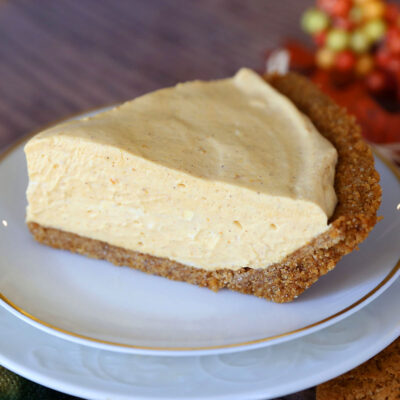The BEST No Bake Pumpkin Cheesecake