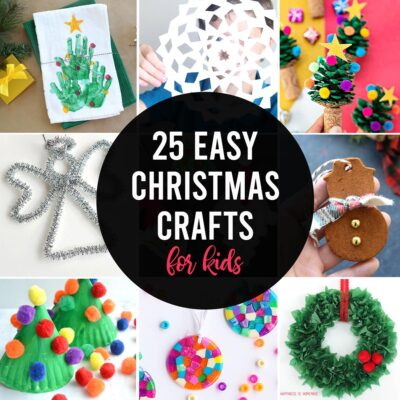 25 Adorable Christmas Crafts for Kids