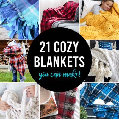 How to Make a Blanket {21 Easy Options}