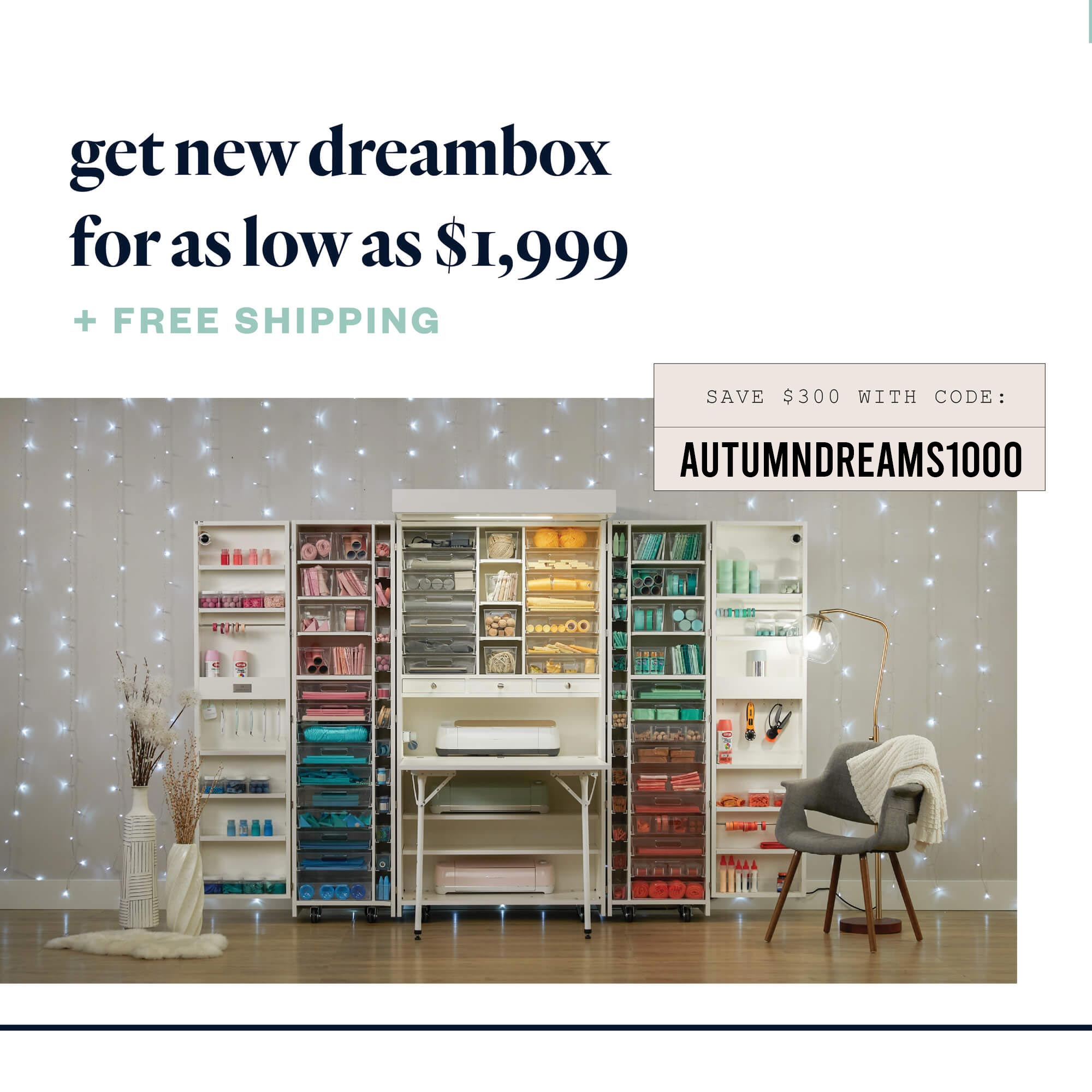 DreamBox sale and coupon code: AUTUMNDREAMS1000