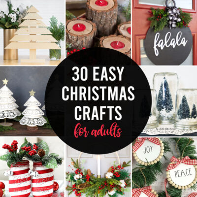 30 Gorgeous Christmas Crafts YOU Can Make