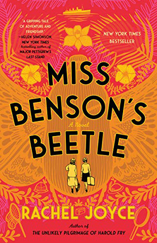 Book Cover for Miss Benson's Beetle by Rachel Joyce