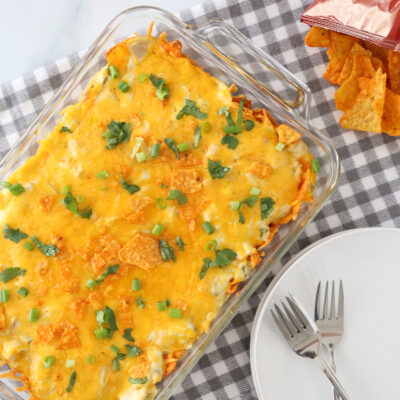 Easy Doritos Enchilada Casserole