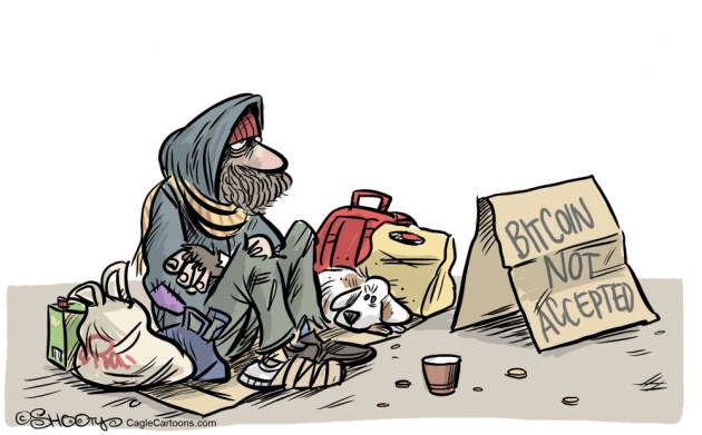 Homeless Bitcoin Not Accepted By: Martin Sutovec