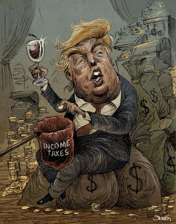 Trump Taxes Dario Castillejos Oaxaca Mexico
