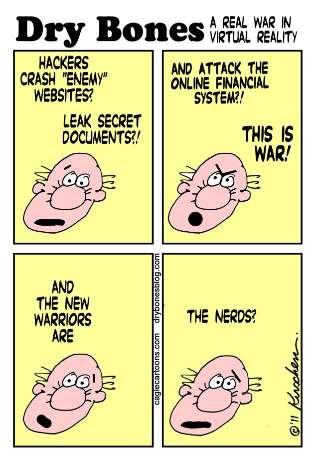 Yaakov Kirschen, Jerusalem Post War of Nerds Against Hackers