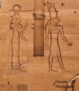 Athor et Horus