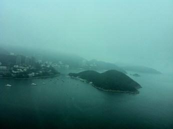 Repulse Bay taken from the cable car at Ocean Peak (Ocean Peak is Hong Kong Highest Point)