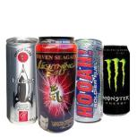 "ENERGY DRINKS When people think about ""energy"" drinks, they're usually referring to products that contain caffeine. The problem is that most ""energy drinks"" are loaded with too much caffeine and sugar, so while they may give you a short-term burst of energy, you'll ultimately crash and just want to zonk out. When you need a brain boost, you're better off sipping green tea or snacking on a handful of walnuts."