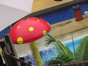 Cheerful mushroom