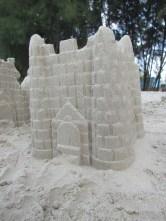 Handsome sand castle ain't it