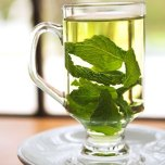 """Calories: 0 When we talk about tea as a superfood, we mean black, green, white, or oolong (herb teas are infusions of other plants with different nutritional characteristics). All """"real"""" teas are high in polyphenols, an antioxidant that protects cells from the DNA damage that can cause cancer and other diseases. Tea may also lower LDL or bad cholesterol, ward off osteoporosis, boost your brain power, and keep you thin. We'll drink to that!"""