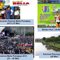 PUTRAJAYA EVENTS FOR MAY 2013