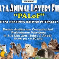Putrajaya Events for March & April 2015