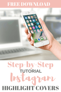 Photo of hand holding cell phone with laptop in background with text overlay - Stop Using Alt Tags for Pinterest Pin Descriptions