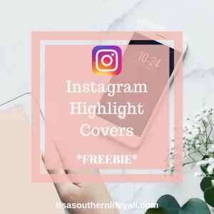 Instagram Highlight Covers Freebie