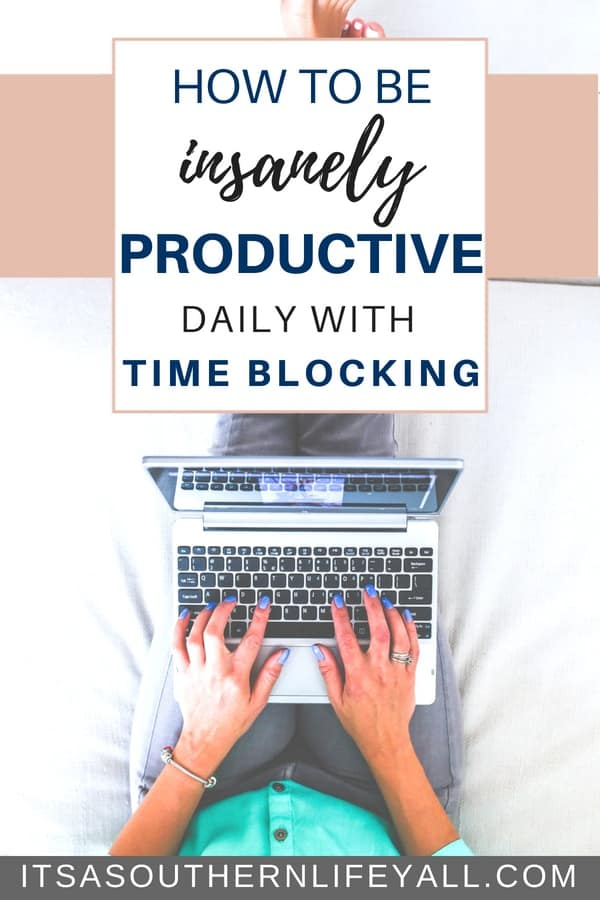 Need to boost your time management and productivity skills? Time blocking can help you become insanely productive daily. This simple tool will help you accomplish more in much less time. The key is to use your time wisely to work smarter not harder.