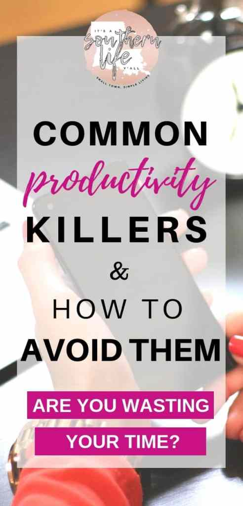 Better time management and higher productivity starts with cutting these bad habits. Are you wasting your time and don't know it? Follow these tips on how to avoid these bad habits.